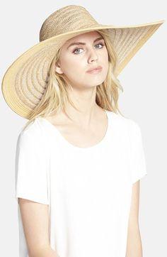 Nordstrom Ribbon Weave Sun Hat