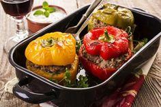 Pimientos Rojos Rellenos Te enseñamos a cocinar recetas fáciles cómo la receta de Pimientos Rojos Rellenos y muchas otras recetas de cocina..