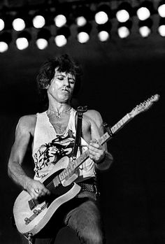 Keith Richards, by Peter Hankfield.