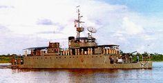 Peruvian Gunboat Loreto. In service since 1934.