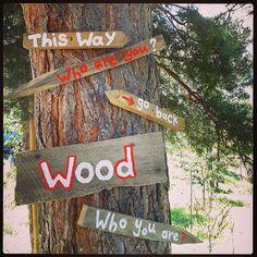 #signs #pepilot #aliceinwonderland #whoareyou #installation #garikula #artvilla