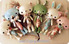 Sweet Stufflings pdf Pattern $8.50