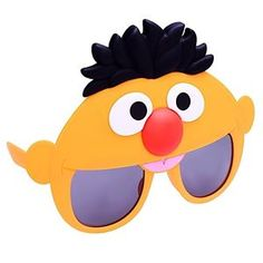 Sesame Street Ernie Sunglasses - 380581 | trendyhalloween.com