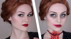 Supernatural: Abaddon Makeup Tutorial - this is the best tutorial ever