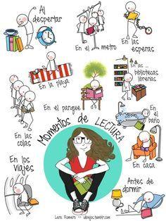 Momentos de #lectura, by Lara Romero [vía @DimeBarcelona]