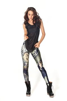 Chewie and Han leggings design from blackmilkclothing.com
