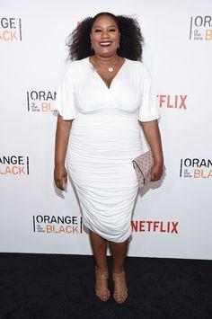Adrienne C. Moore au lancement de la quatrième saison de Orange Is The New Black