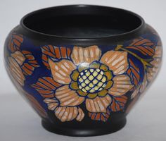 Gouda Pottery 1923 Magda Bowl from Just Art Pottery