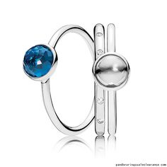 77ed6a437ce Pandora rings sale clearance December Droplets Ring Stack, pandora stacking  rings sale together, pandora rings buy two get one for free, so we make  this ...
