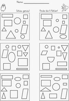Lernstübchen: Unterschiede finden
