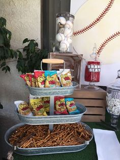 Baseball Baby Shower Party Ideas