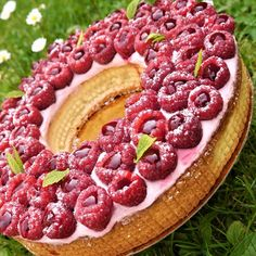 Ma tarte aux framboises façon Cyril Lignac