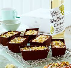 Fiona Cairns' Mini Elderflower and lemon loaf cakes [gluten free]