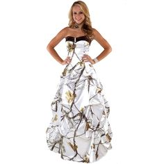 ce4bfee21fd3 Realtree Camo Pickup Ballgown. Camouflage Wedding DressesCamouflage ...