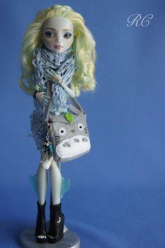 OOAK custom repaint Monster High doll Lagoona Mattel by Raquel Clemente | Flickr - Photo Sharing!
