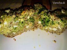Zapečená brokolica s krúpami a pohánkou (fotorecept) Polenta, Quiche, Breakfast, Morning Coffee, Quiches