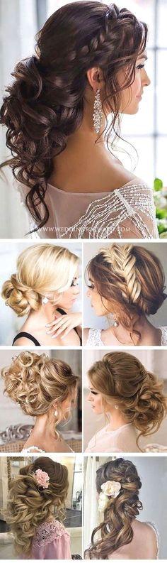 uppsättning hår bröllop