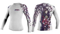 Sakura Long Sleeve Rashguard (Women's) ravenfightwear.com.au