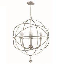 View the Crystorama Lighting Group 9226 Solaris 6 Light Globe Chandelier at LightingDirect.com.