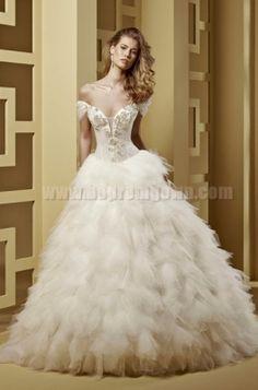 Wedding Dress 2015 Romance Style ROAB15816IV [ROAB15816IV] | fashionweddingdresses.net | Coming Soon | Follow Us romance roab15816iv