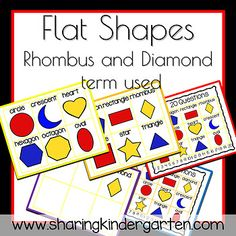 20 Questions Shapes - Sharing Kindergarten