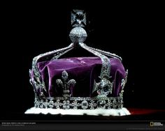 """Kooh-i-Noor """"Mountain of Light"""" is a  105 carat diamond. It has great historical significance. It is now part of the British Crown Jewels, acquired by Queen Victoria in 1877."""