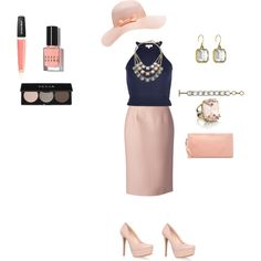 """Pinks & Inks"" by chloe-and-isabel-sarah-bordenet on Polyvore. All jewelry available at www.chloeandisabel.com/boutique/sarahbordenet"