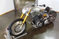 Here is the custom bike Gard Hollinger built for Keanu Reeves, beginning in 2006 with continued development until 2011, when it became the jumping-off point for the KRGT-1. Surprisingly, it was Reeves who had to convince Hollinger to enter production, not the other way around.