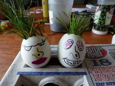 Humpty Dumpty Grassy Heads