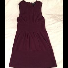 Banana republic sz 12 purple Sweaterdress Cotton, nylon and angora rabbit hair. Very soft and elegant Banana Republic Dresses Midi