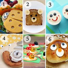 food ideas for kids! so cute!