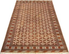 Ivory Zahir Shahi Carpet/Rug No. 4463  http://www.alrug.com/4463