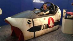 Some Lucky Humans Got To Sit In A Macross Cockpit.. oh #Childhood :)