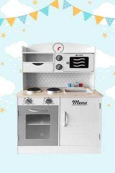 Start whipping up a scrumptious feast with the Al Dente Play Kitchen. This medium sized kitchen has everything little cooks need to get cooking, with an oven, hot plates, microwave, and sink. To tie it all together, the fridge door is a whiteboard for writing out the menu and recipes. Locations: AUSTRALIA