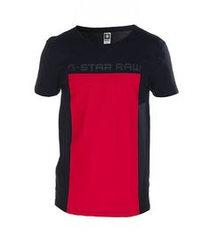 32b13f095b7 GSTAR Logo tee Short sleeves Crew neck with ribbed collar Cotton for  comfort G-STAR RAW logo lettering on front Solid black