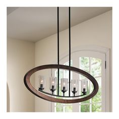 Christenson 5-Light Candle-Style Chandelier, foyer