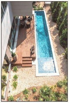 Lap Pools Için 180 Fikir Pool Spa Arka Bahçe Havuzu Peyzajı Kağıt Fener