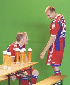 Bastian Schweinsteiger, Holger Badstuber, bayern münchen, bayern munich, photoshoot