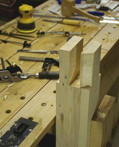 Roubo workbench, the beginning   Flickr - Photo Sharing!