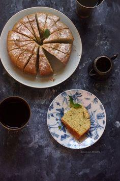 Lemon Balm Cake