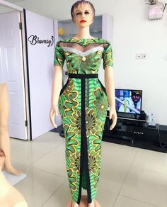 Modern Trendy Ankara Styles For Ladies African Fashion Ankara, Latest African Fashion Dresses, African Inspired Fashion, African Dresses For Women, African Print Dresses, African Print Fashion, Africa Fashion, African Attire, African Wear
