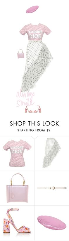 """Girly"" by andreearaiciu ❤ liked on Polyvore featuring John Galliano, Rodarte, Christian Dior, Dorothy Perkins, Prada and Gucci"