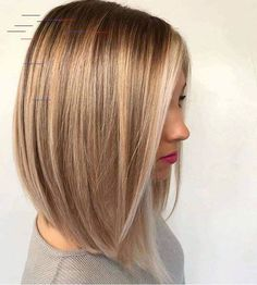 Are you on the lookout for Popular Short Hairstyles for Fine Hair? The most popular short looks Blonde Haircuts, Choppy Bob Hairstyles, Bob Hairstyles For Fine Hair, Long Bob Haircuts, Lob Hairstyle, Hairstyles 2018, Quick Hairstyles, Popular Short Hairstyles, Trending Hairstyles