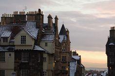 snow, winter, and architecture Bild