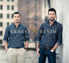 denim/shirting/ernest alexander