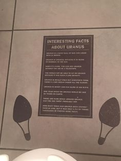 Facts about Uranus while sitting on the crapper. ( thank you jimmy johns)