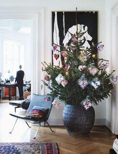 The house of Stine and Henrik Busks in Copenhagen