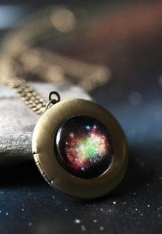 Galaxy locket
