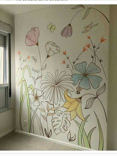 Latest Wall Painting Ideas For Home To Try Interior wall painting ideas are . Hand Made , Latest Wall Painting Ideas For Home To Try Interior wall painting ideas are . Latest Wall Painting Ideas For Home To Try Interior wall paint. Wall Painting Decor, Mural Wall Art, Diy Wall Art, Home Wall Art, Painting Walls, Painted Wall Murals, Wall Décor, Decorative Wall Paintings, Wall Painting Flowers