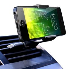 #amazon Koomus Air Vent Universal Smartphone Car Mount Holder Cradle for iPhone 6 6+ 5 5S 5C 4 4S Samsung Galaxy S5 S4 S3 Note 3 and all Smartphones in Black - $15.99 (save 16%) #koomus #wireless #phone
